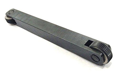 Rändelwerkzeug mit doppelseitigem Ende, gerade, Größe 1,3 x 1,3 x 12,7 cm