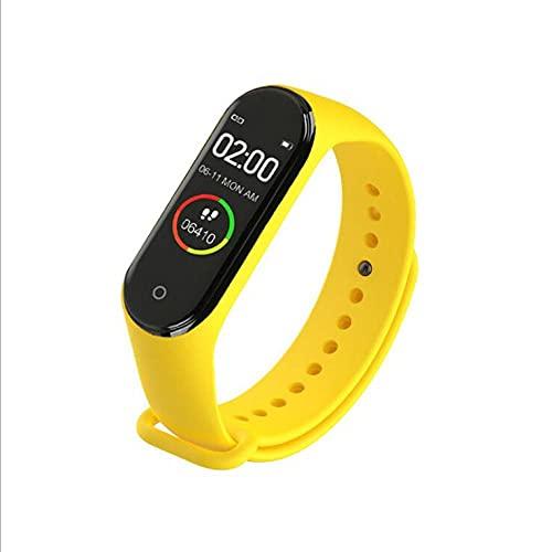 Pulsera Inteligente Salud Fitness Deportes Pulsera Inteligentepulsera De Reloj Digital Inteligente M4 Para Hombres, Mujeres, Podómetro Para Correr, Rastreador Deportivo, Pulsera-5 Rastreador De Muñ