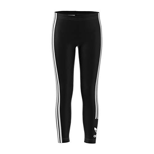 adidas FM5618 Leggings Sportivi, Unisex Bambini, Black/White, XS