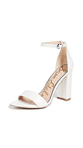 Sam Edelman womens Yaro Heeled Sandal Bright White 8 M