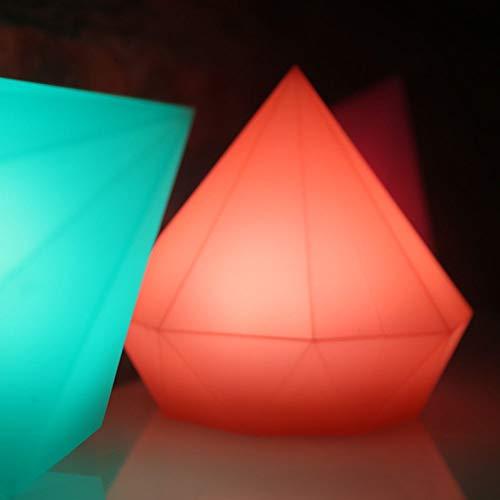 The only goede kwaliteit decoratie mode kleurrijke diamant geheugen groen siliconen tip schakellicht kleur LED nachtlicht creatieve lamp tafellamp USB opladen Pat Light Villa