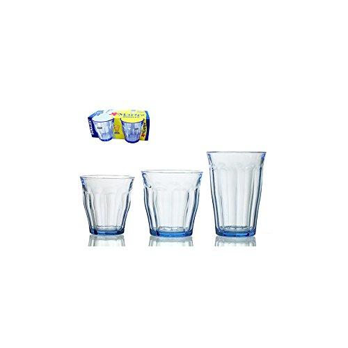 DURALEX set 12 x 4 glazen glazen picardie marine cl22 Arredo bord