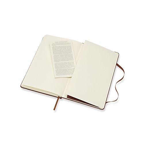 モレスキンノートクラシックレザーノートブックルールド(横罫)ラージブラウンLCLH31P21BOX