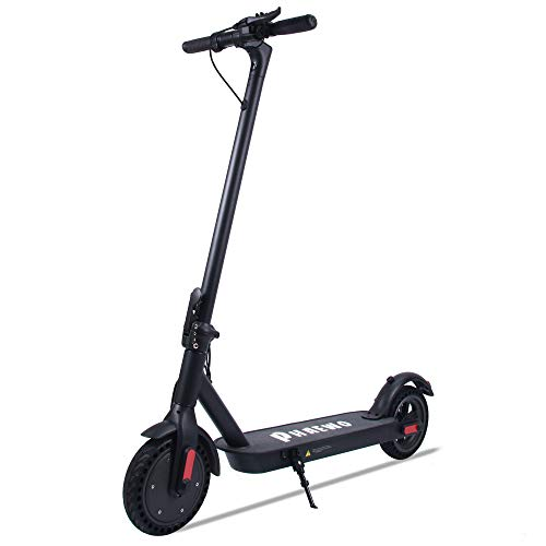 Electric Scooter, 25 km Long-Range, Up to 25 km/h with 8.5 inch Solid Rubber Tires, Portable and...