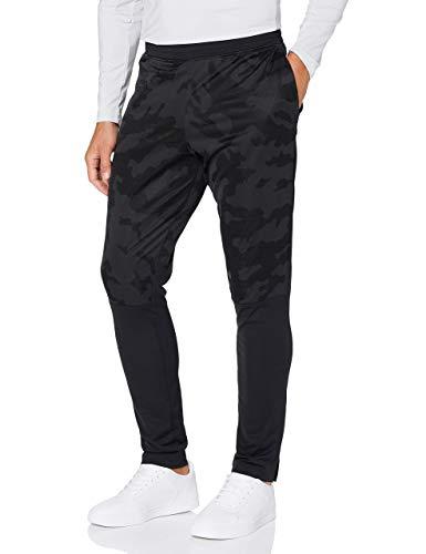 Under Armour Sportstyle Pqe Camo Tk PT Pantalones, Hombre, Negro/Negro (001), LG