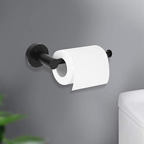 Soporte para papel higiénico montado en la pared Estante para papel en rollo Soporte para papel higiénico Uso del inodoro para evitar que las toallas de papel se caigan.
