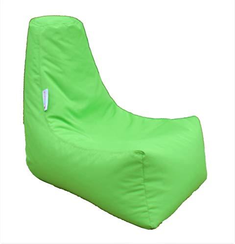 HH Home Hut Kids Bean Bag Chair Gaming Chair Beanbag Indoor & Outdoor Garden Big Arm Chair (Lime Green)