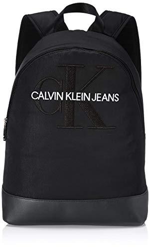 Calvin Klein Herren Ckj Monogram Nylon Cp Bp 40 Schultertasche, Schwarz (Black), 0.1x0.1x0.1 Centimeters