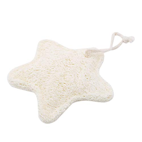 Hengxing Natural Loofah Dishwashing Brush Loofah Sponge Pads Natural Loofah Materials Non-Toxic Tasteless Dishwashing Brush,Cartoon five-star