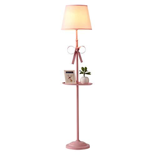 Lampadaires Vertical Créatif Lampe De Chambre d'enfants Salon Haute Lampe De Table Rose De Chambre Fille Lumière Tamisée (Color : Pink)
