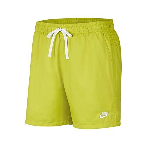 Nike Sportswear AR2382-308 - Pantalón corto para hombre, color blanco Bright Cactus/White S