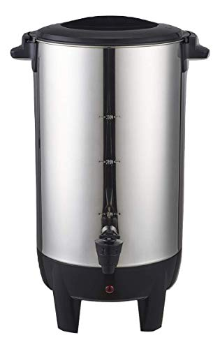Dominion 30 Cup Coffee Urn, Stainless Steel