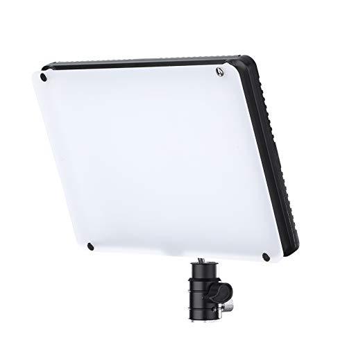 Montloxs TC-368 Panel de luz de Video LED RGB Compacto con Control de Sonido Luz de Relleno para fotografía 2800K-9900K Regulable CRI95 + 18 Pantalla LCD con Efecto de iluminación con Adaptador de