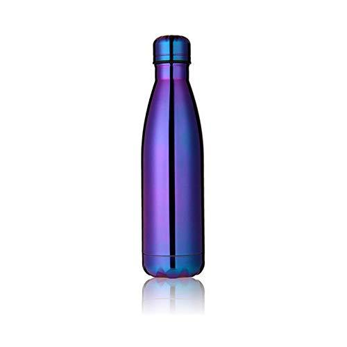 Los utensilios del chef Botella termica Chrome Purpura