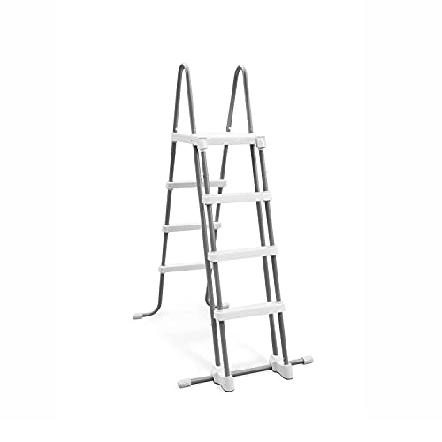 Intex 28076E Intex-48 Inch Ladder with Removable Steps Pool, 1 Size, Grey