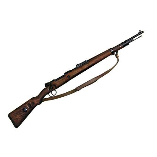 Deutscher Deko Karabiner 98 K Mauser mit Ledergurt 1935 WWII