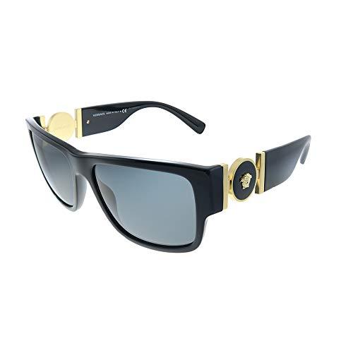 Versace 0VE4369 Occhiali da Sole, Rosa (Black), 58.0 Uomo