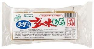 オーサワジャパン きび入玄米もち 300g(6個)×5個             EAN: 4932828006048