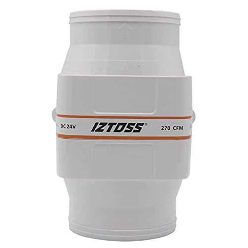 GoolRC- Soplador de Aire de Sentina Marino Blanco, 12 V, Funcionamiento Silencioso, Bajo Consumo de amperaje