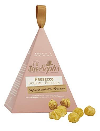 Joe & Seph's Prosecco Gourmet Popcorn in schöner Verpackung 2er Set je 30g