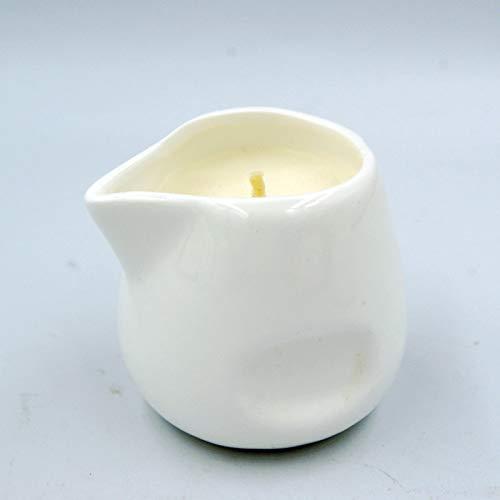 Ätherisches Öl Massage Sojaöl Haut Kerze Paare Natürlicher Duft Weiße Aromatherapie Europäische Badeatmosphäre Pflege Sicherheit SPA Geschenk SM Wachs für niedrige Temperaturen Verbrühungsschutz
