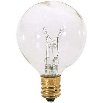 Satco S3845 120v Candelabra Base 15 Watt G12 5 Light Bulb Clear Incandescent Bulbs Amazon Com