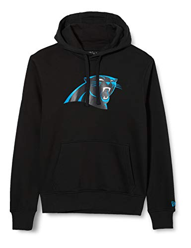 New Era Herren Carolina Panthers Hoodie, Black, S