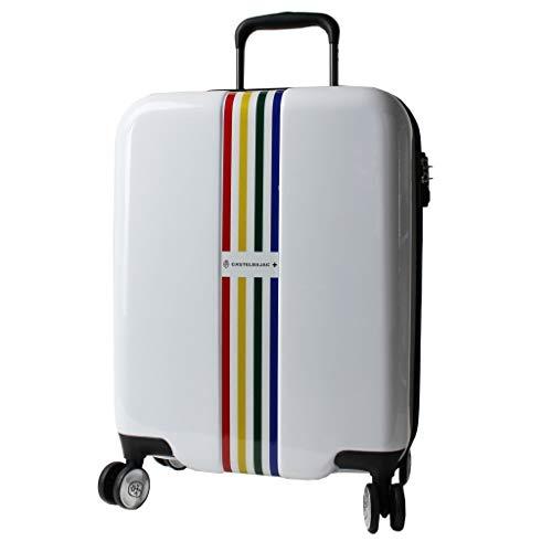 [カステルバジャック] ヴォワールキャリー 機内持ち込み対応 キャリーバッグ スーツケース 機内持ち込み可 35L 54 cm 2.9kg シロ