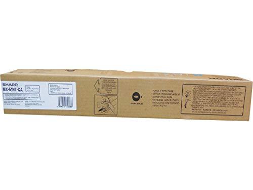 Sharp MX-51NTCA MX-4110 4111 4140 4141 5110 51115140 5141 Toner Cartridge (Cyan) in Retail Packaging