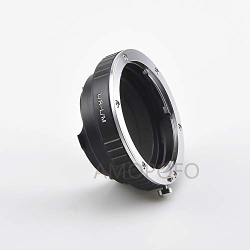 Amopofo LR-LM Adapter voor Leica R L/R Lens naar Leica L/M M9 M8 M7 M6 M5&TECHART LM-EA 7 (Speciaal voor Techart LM-EA 7 AF lens adapter, evenals voor gebruikelijke Leica M camera's)