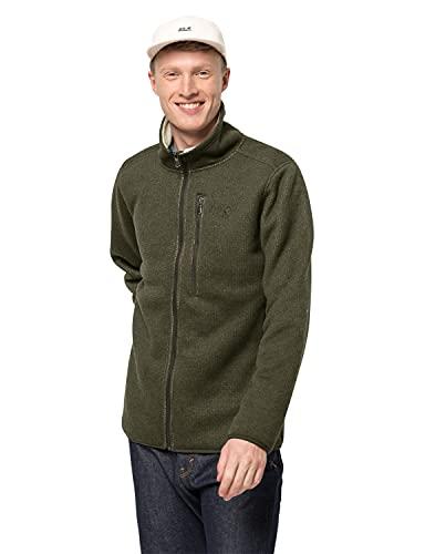 Jack Wolfskin Herren Robson Fjord Jacket Shell-Jacke, Bonsai-Grün, Large
