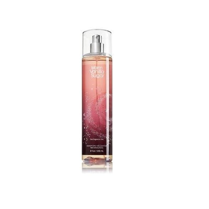 サイレントリース膨張するBath & Body Works ウォームバニラシュガー フレグランスミスト warm vanilla sugar Fragrance Mist[並行輸入品]