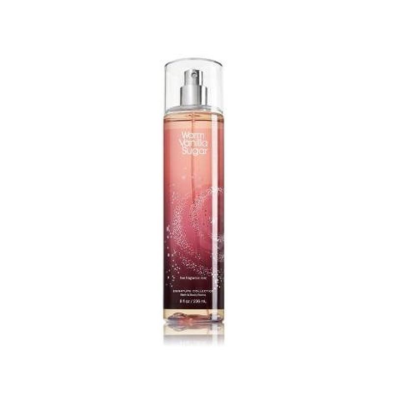 限界記念紫のBath & Body Works ウォームバニラシュガー フレグランスミスト warm vanilla sugar Fragrance Mist[並行輸入品]