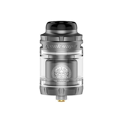 Novità GeekVape Zeus X Mesh RTA diametro 25 mm RTA con deck bobina a maglie, sigaretta E anti-perdita No nicotina, nessun liquido E (metallo pistola)