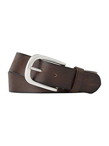 TOM TAILOR Adjustable Fashion Belt W80 Dark Brown - raccourcissable