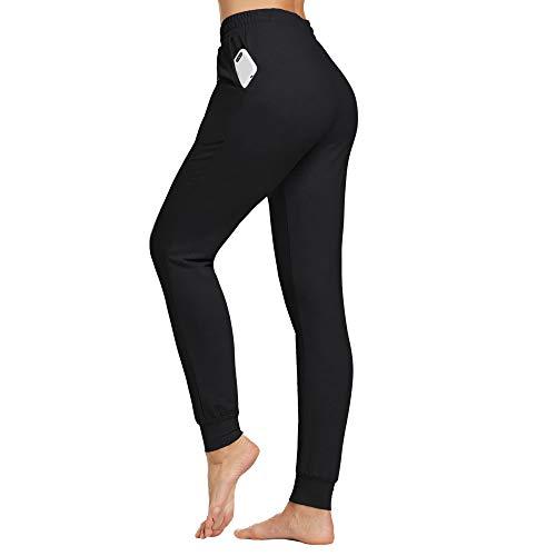 Ogeenier Pantalon Chandal Mujer Pantalones de Deporte Algodón Ropa Deportiva Yoga Fitness...