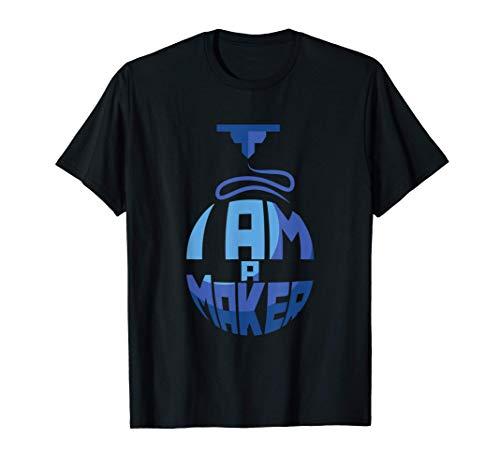 Soy un fabricante I am a maker Gift 3D Printer Impresora 3D...