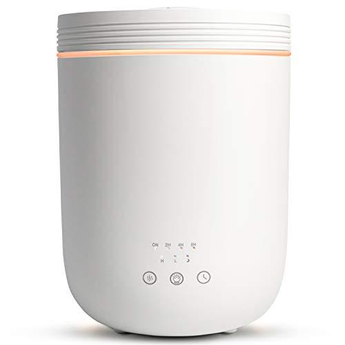 Salking Ultraschall Luftbefeuchter Raumbefeuchter, 2.2L Humidifier mit Top-Füllung, Luftbefeuchter Schlafzimmer mit Aromatherapie, Timer Auto-off, 360° Drehbare Dampfdüsen für Wohn-, Schlafzimmer Büro