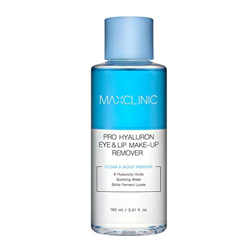 MAXCLINIC Pro Hyaluron Eye & Lip Makeup remover 160ml 5.41 fl oz with...