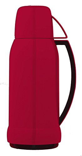 THERMOS 4057.202.100 Bouteille Isotherme 1 Litre Plastique Rouge