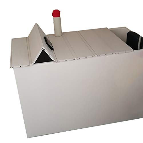 LwBathtub tray witte badkuip afdekking anti-stof vouwstof badkuip beschermende afdekking PVC