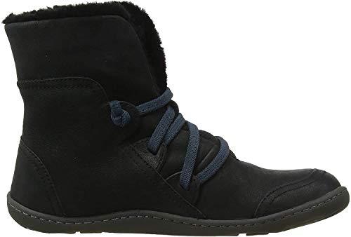 CAMPER Damen Peu Hohe Sneaker, Schwarz (Black 1), 35 EU
