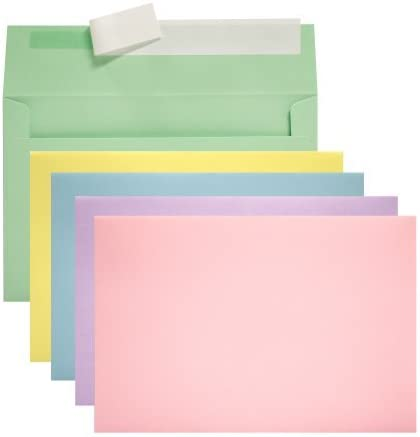 Invitation Social Max 55% OFF Envelopes with Stick Assorted Peel Soldering Closure