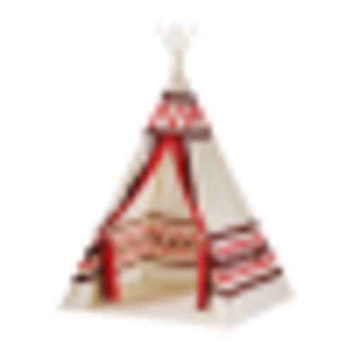fptcustom Kinderzelt, Indoor Spielhaus Ethno-Stil Baby Zelt Nach Hause