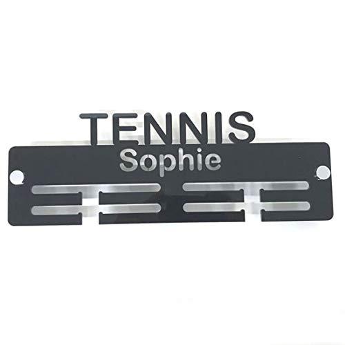 Servewell - Porta medaglie con scritta'Tennis'