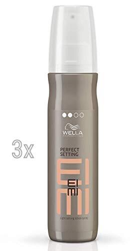Wella Wet Perfect Set de 3 lotions de coiffage à appliquer pendant le séchage 150 ml