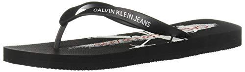 Calvin Klein EDOARDO Black B4S0678 Chanclas Hombre