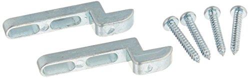 Slide-Co 121996 Sliding Screen Heavy Duty Door Latch Strike, Diecast,(Pack of 2),Zinc