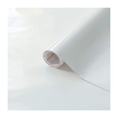 d-c-fix, Folie, Uni-Lack Weiss, selbstklebend, Rolle 67,5 x 200 cm