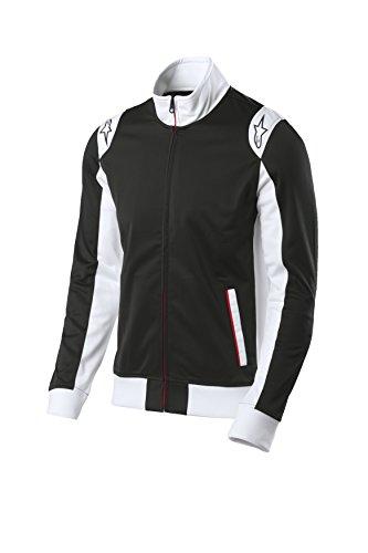 Alpinestars Young Men's Lightweight Track Jacket, Modern fit Outerwear, spa Track Jacket Black, L